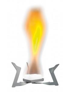 Hornillo de titanio para combustible sólido de Esbit