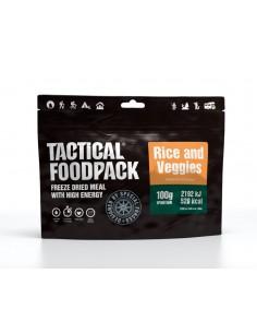 arroz y verduras 100 g Tactical Foodpack