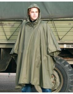 Poncho militar nylon ripstop Miltec
