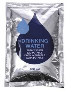 Rations d'eau d'urgence 5 x 100 ml