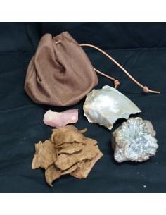 Kit de fuego prehistórico
