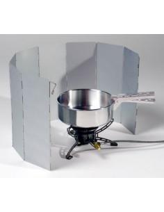 Pare-brise pliant en aluminium