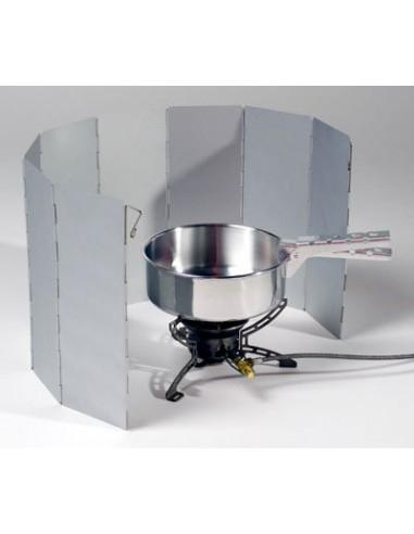 Paravientos de aluminio plegable