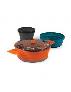 Sea To Summit X-Set 21 - Set de cocina plegable y compacto