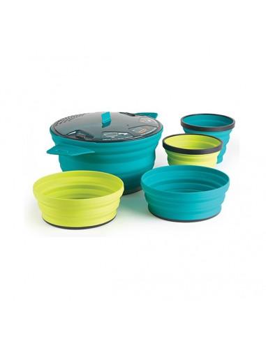 Sea To Summit X-Set 31 - Set de cocina plegable y compacto para dos personas