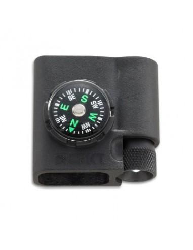 Accesorio para pulsera de paracord con brújula y led de CRKT