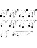 Pulsera multiherramientas Leatherman Tread - Acero