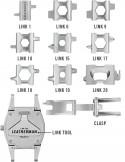 Leatherman Tread Tempo - Acero - Reloj de pulsera multiherramientas