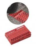 Planchas plegables de rescate antideslizantes para vehiculos