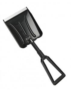 Black foldable ABS snow shovel