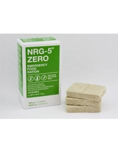Ración de emergencia NRG-5 Zero Sin gluten ni lactosa.