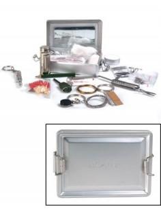 Kit Supervivencia Caja de Aluminio Mil-Tec