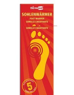 Thermopad Fußwärmer 2 Einheiten Größen S / M