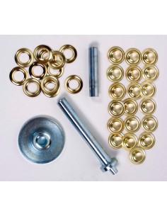 Kit de preparación de ojales metálicos DIY de Coghlans