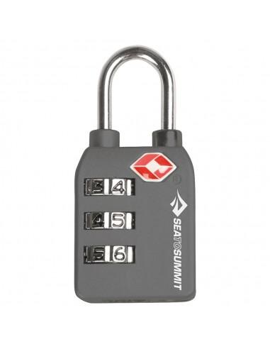 Candado de combinación TSA Combination TSA lock (Single Pack) gris
