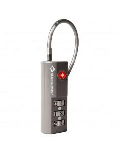 Combo Cable TSA lock (Single Pack) gris