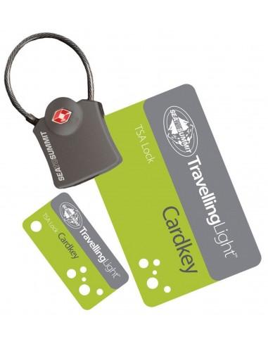Candado con tarjeta Sea To Summit Cardkey TSA lock