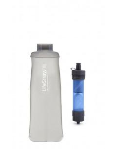Filtro de agua con botella plegable LifeStraw Flex