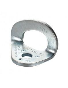Plaqueta de acero cincado Singing Rock Hanger Plate Zinc