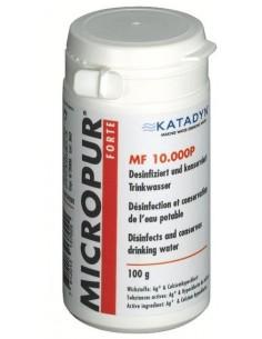 Micropur 'Forte' MF 10.000P potabilizador para agua no tratada.