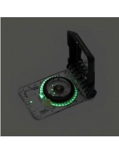 Brújula Brunton Compass TruArc 15 Glow Fotoluminiscente