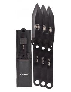 Set de 3 cuchillos Ka-Bar Throwing Knife set