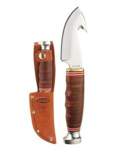 Cuchillo Ka-Bar Game Hook-Stacked Leather Handle