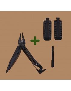 Pack Leatherman MUT Utility Negra Funda Molle + BitKit + Prolongador