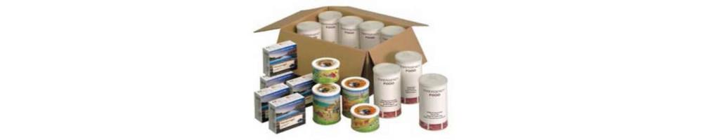 Packs de alimentos de emergencia